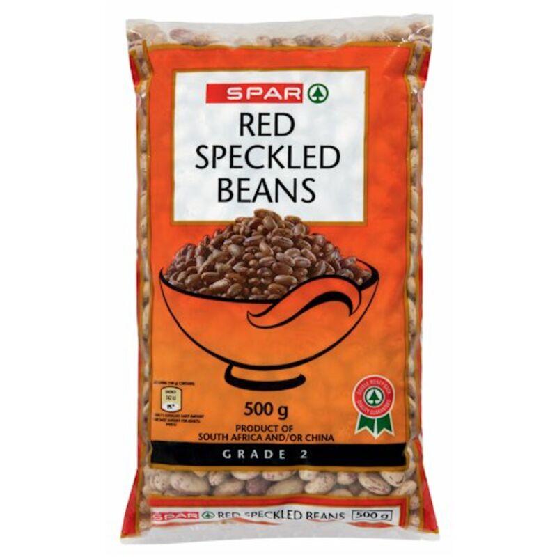 SPAR RED SPECKLED BEANS – 500G