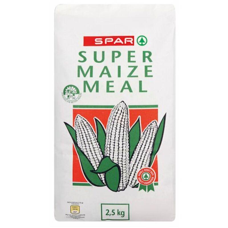 SPAR SUPER MAIZE MEAL PAPER BAG – 2.5KG