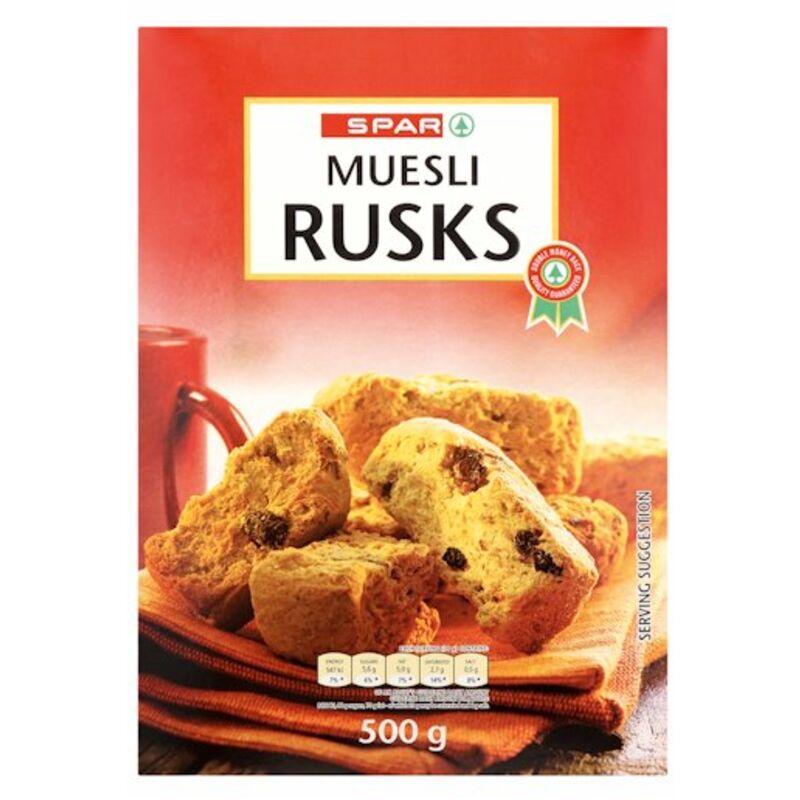 SPAR RUSKS MUESLI – 500G