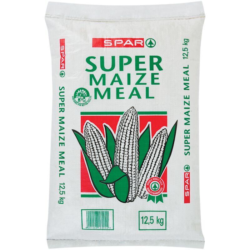 SPAR SUPER MAIZE MEAL (PAPER BAG) – 12.5KG