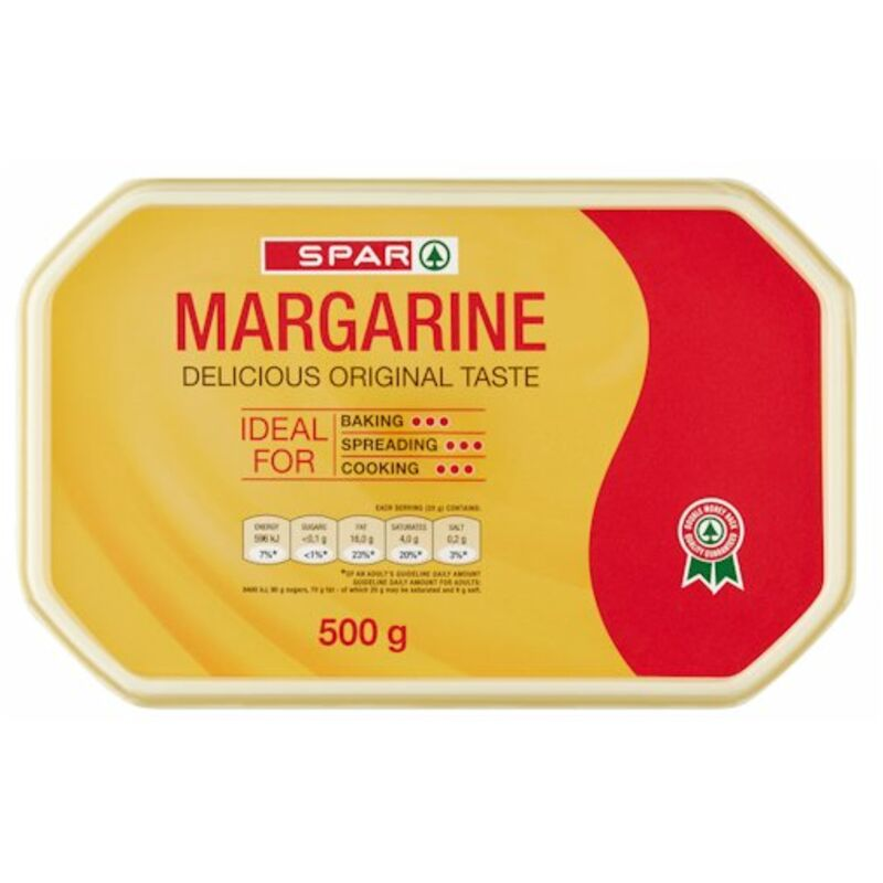 SPAR FULL FAT MARGARINE TUB – 500G