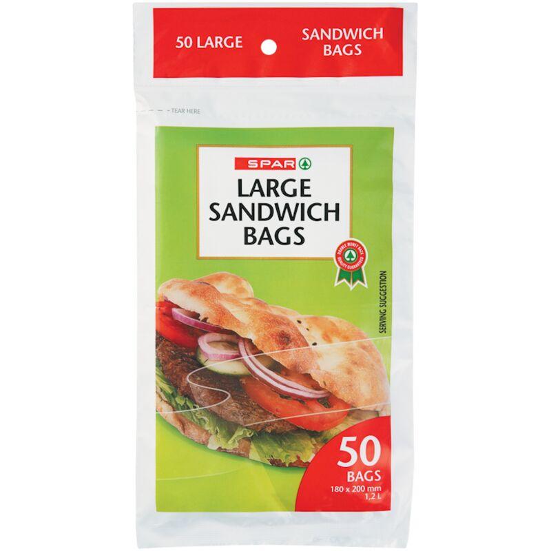 SPAR SANDWICH BAG LARGE – 50S