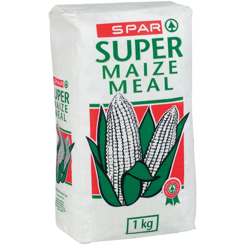 SPAR SUPER MAIZE MEAL PAPER BAG – 1KG