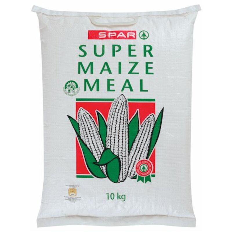 SPAR SUPER MAIZE MEAL POLY BAG – 10KG