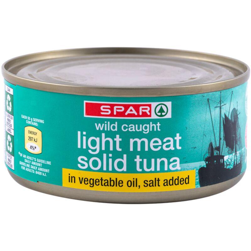 SPAR SOLID TUNA IN OIL – 170G