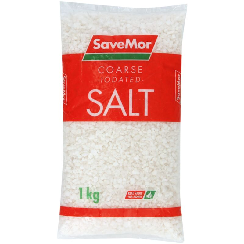SAVEMOR SALT COARSE – 1KG