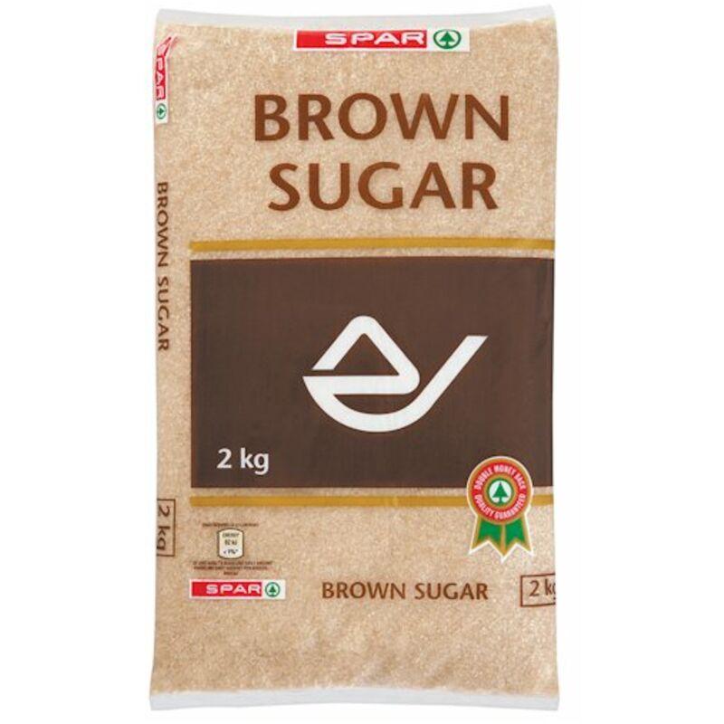 SPAR BROWN SUGAR – 2KG