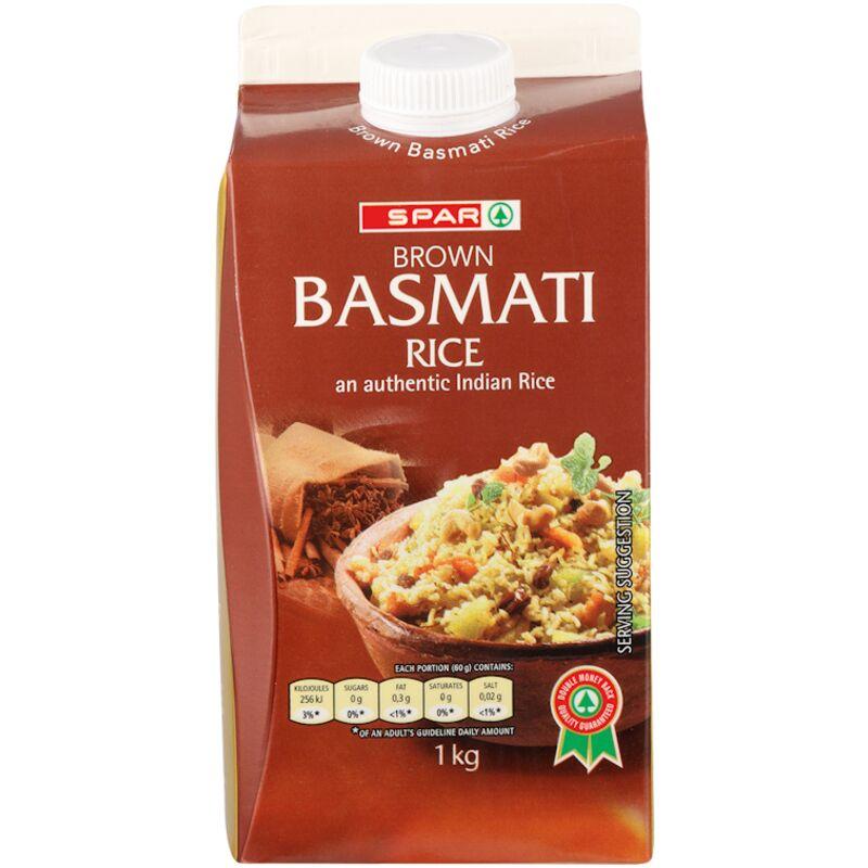 SPAR BROWN BASMATI RICE – 1KG