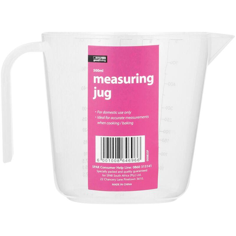 GOOD LIVING MEASURING JUG PLASTIC 500MLT – 1S