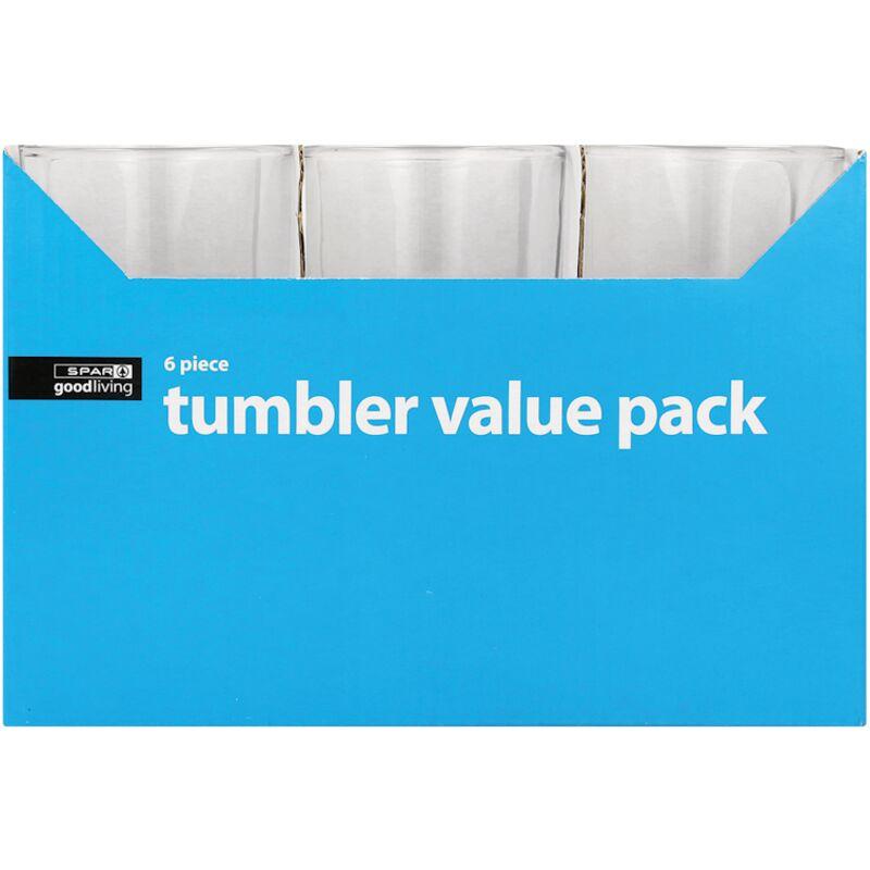 GOOD LIVING TUMBLER VALUE PACK 250MLT 6PIECE – 6S