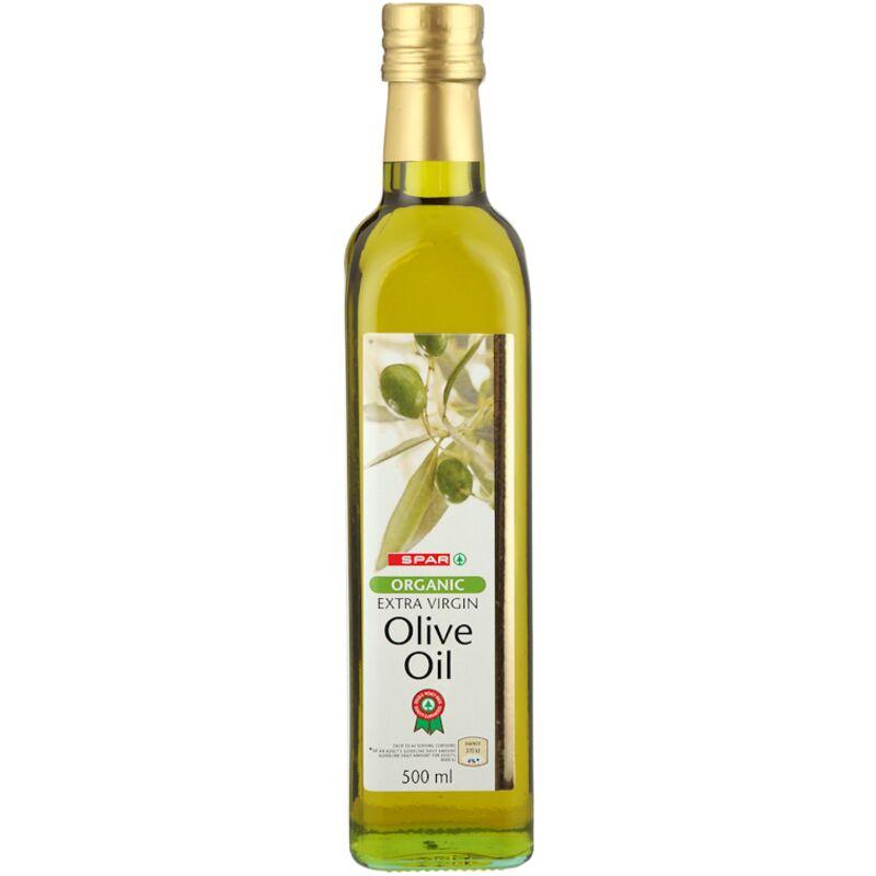 SPAR EXTRA VIRGIN ORGANIC OLIVE OIL – 500ML