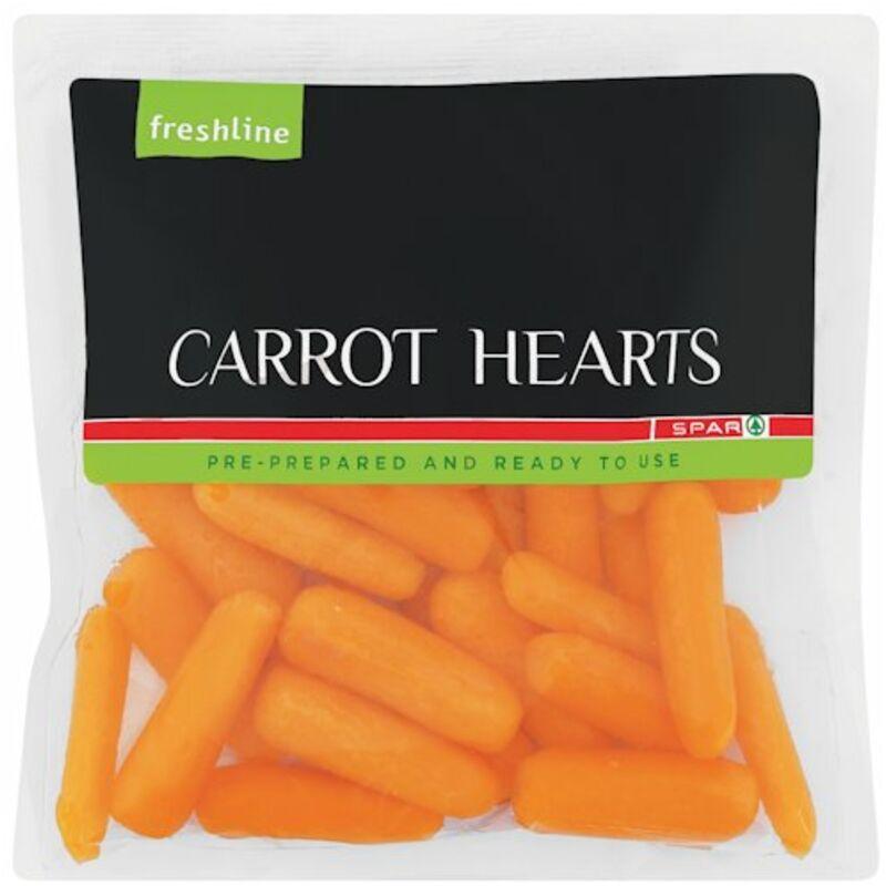 FRESHLINE CARROT HEARTS – 250G