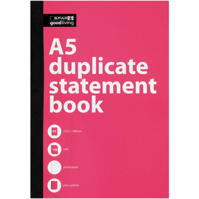 GOOD LIVING DUPLICATE BOOK A5 STATEMENT – 1S