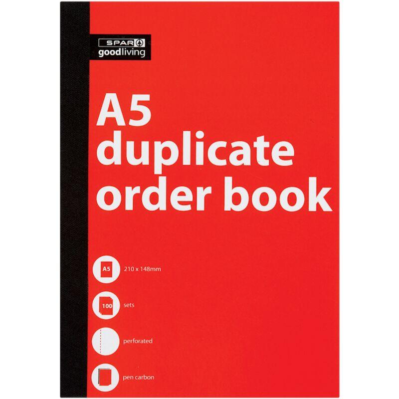GOOD LIVING DUPLICATE BOOK A5 ORDER – 1S