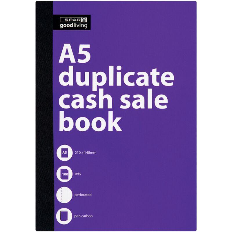 GOOD LIVING DUPLICATE BOOK A5 CASH SALE – 1S