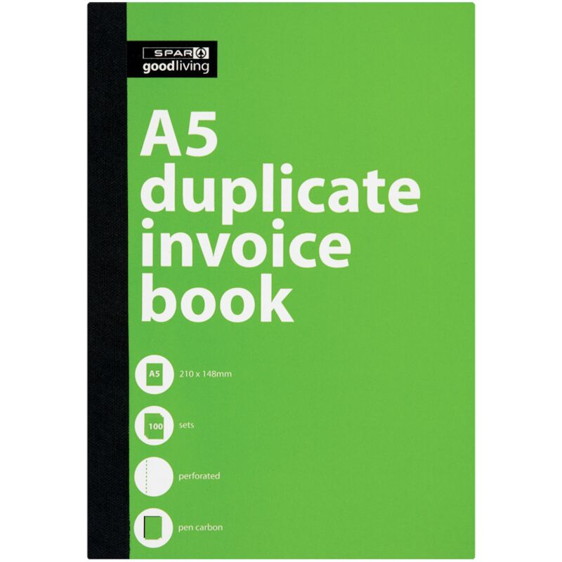 GOOD LIVING DUPLICATE BOOK A5 INVOICE – 1S