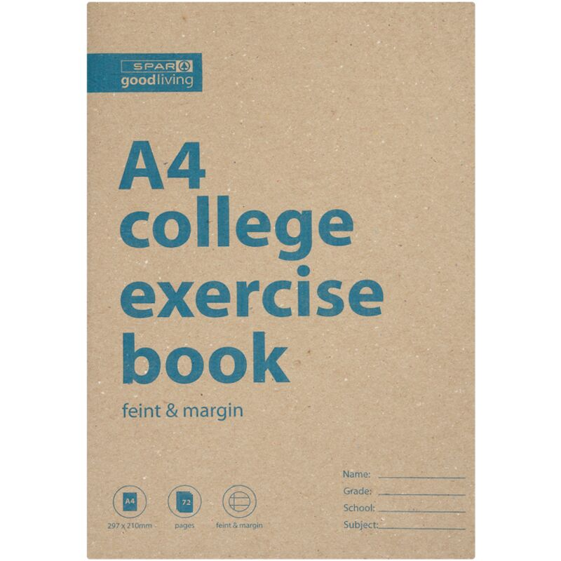 GOOD LIVING COLLEGE BOOK A4 72PG FM – 1S