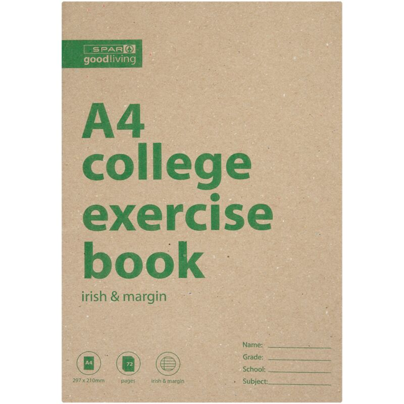 GOOD LIVING COLLEGE BOOK A4 72PG IM – 1S