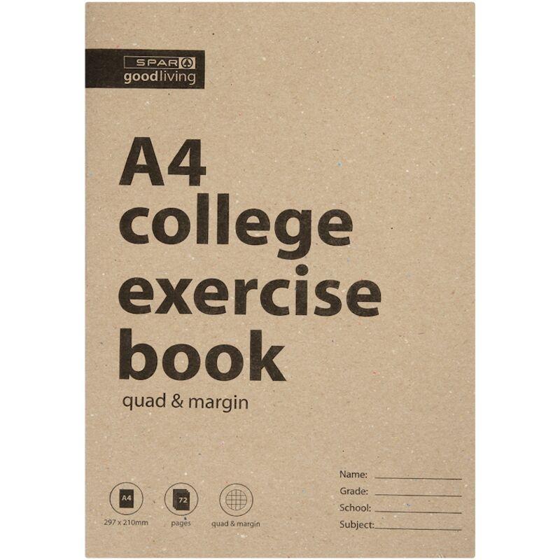 GOOD LIVING COLLEGE BOOK A4 72PG QM – 1S