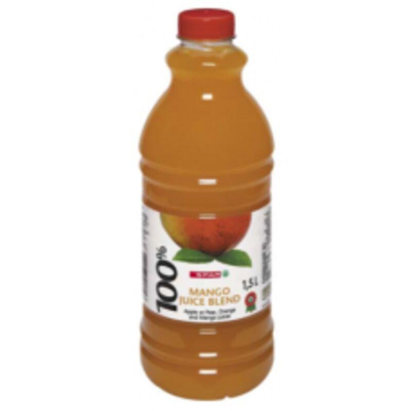 SPAR 100% FRUIT JUICE BLEND MANGO – 1.5L