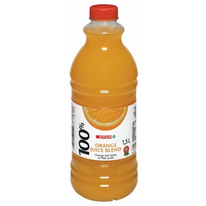 SPAR 100% FRUIT JUICE BLEND ORANGE – 1.5L