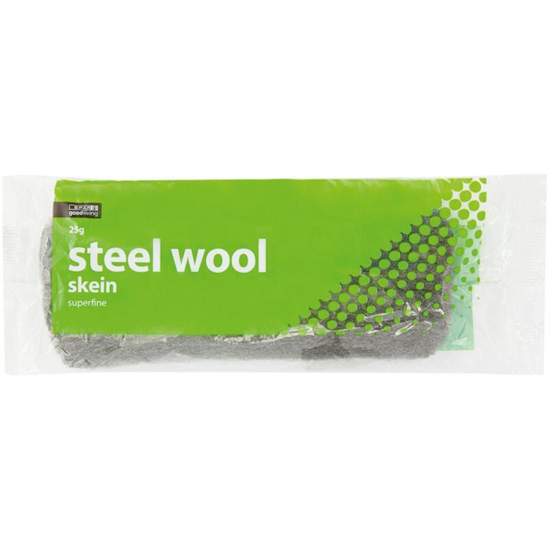 GOOD LIVING STEEL WOOL SKEINS – 25G