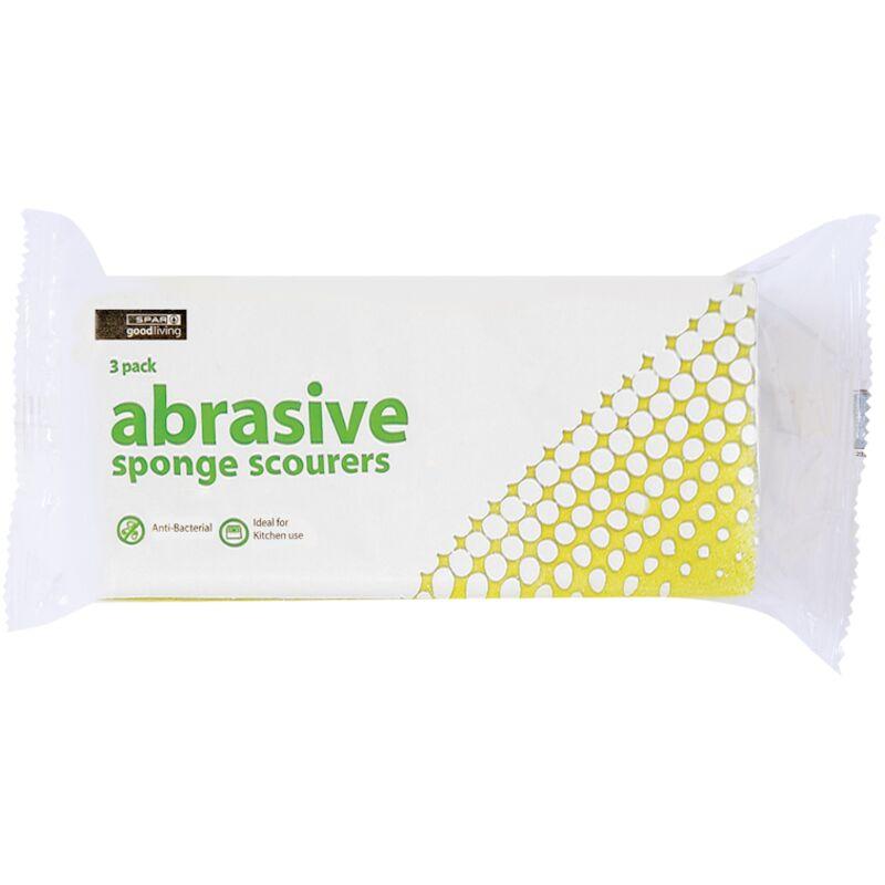 GOOD LIVING SPONGE SCOURERS ABRASIVE – 3S