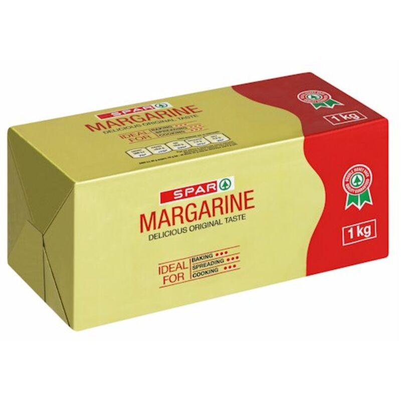 SPAR FULL FAT MARGARINE BRICK – 1KG