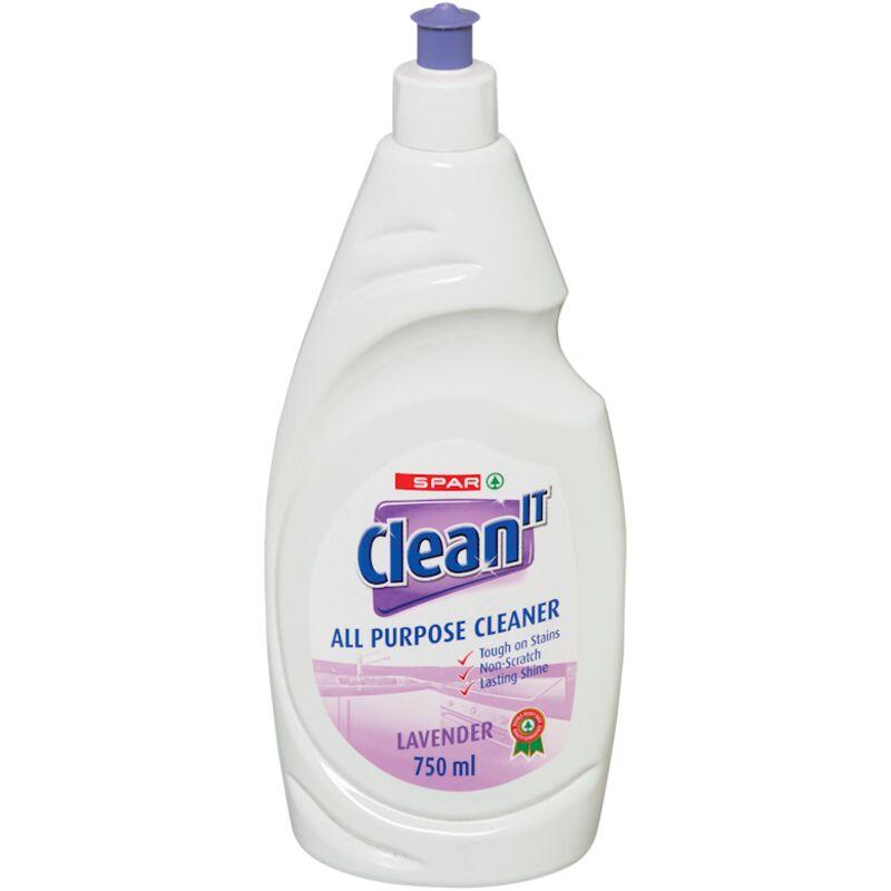 SPAR CLEAN IT ALL PURPOSE CLEANER LAVENDER – 750ML