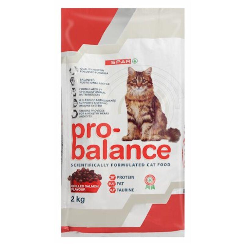 SPAR PRO BALANCE CAT FOOD GRILLED SALMON – 2KG