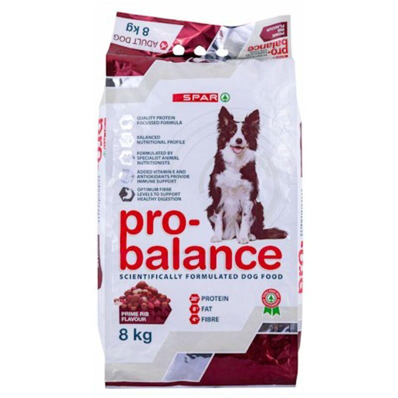 SPAR PRO BALANCE DOG PRIME RIB – 8KG