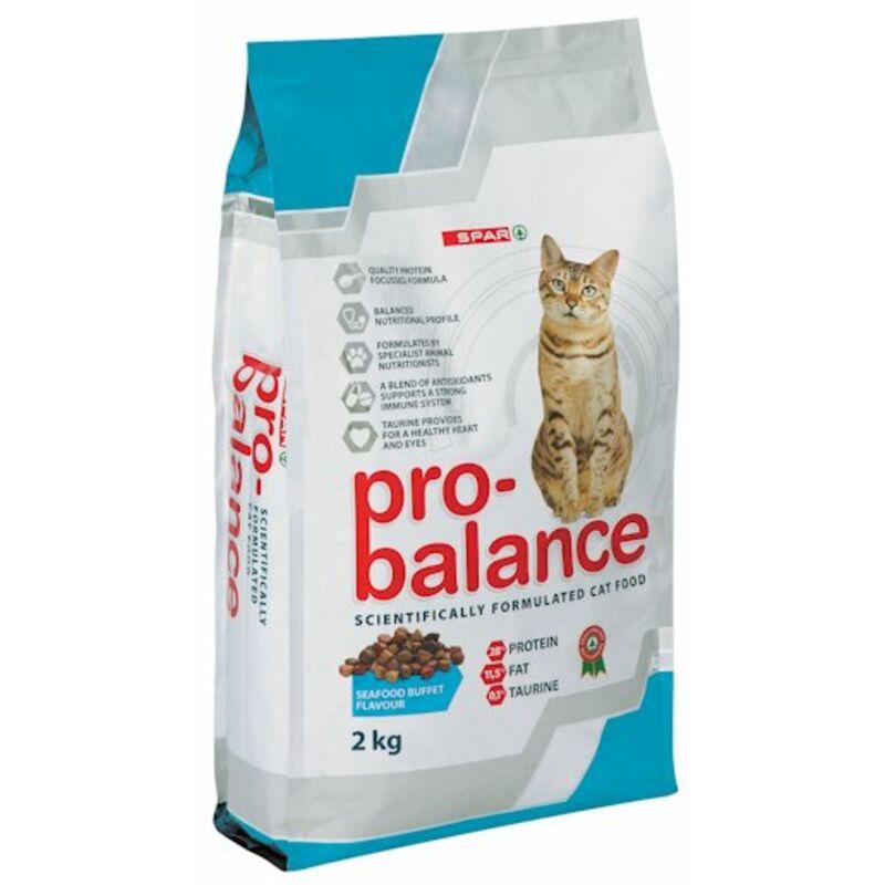 SPAR PRO BALANCE CAT FOOD SEAFOOD BUFFET – 2KG