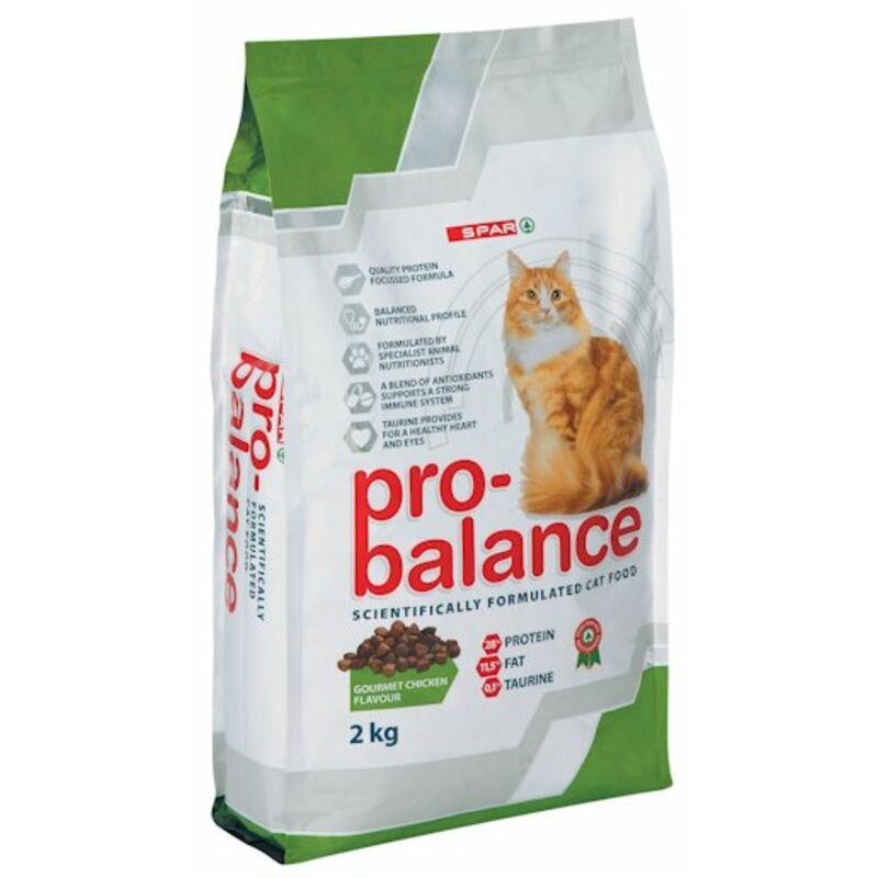 SPAR PRO BALANCE CAT FOOD GOURMET CHICKEN – 2KG
