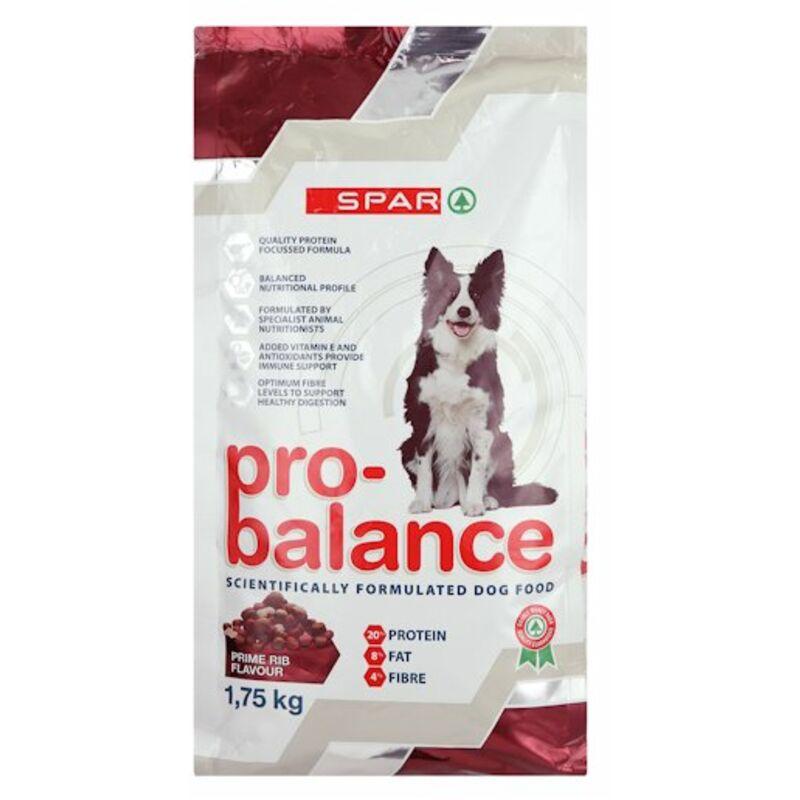 SPAR PRO BALANCE DOG PRIME RIB – 1.75KG