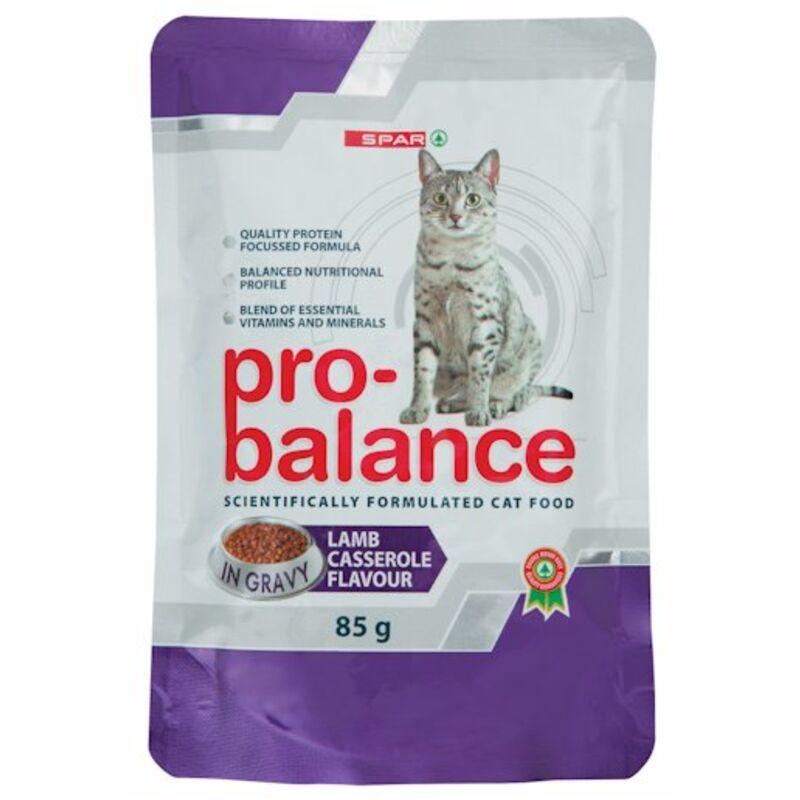 SPAR PRO BALANCE CAT FOOD LAMB CASSEROLE – 85G