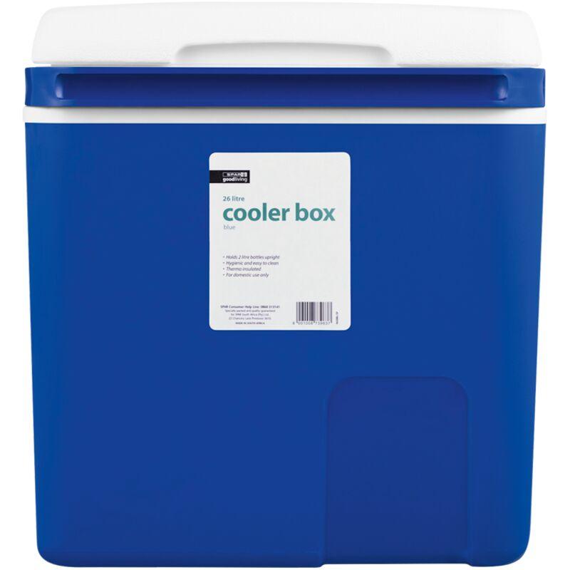 GOOD LIVING COOLER BOX BLUE 26LTR – 1S