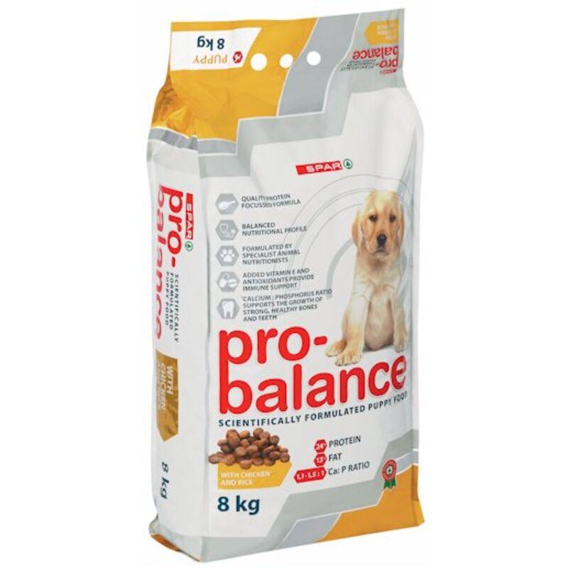 SPAR PRO BALANCE DOG FOOD PUPPY CHICKEN AND RICE – 8KG