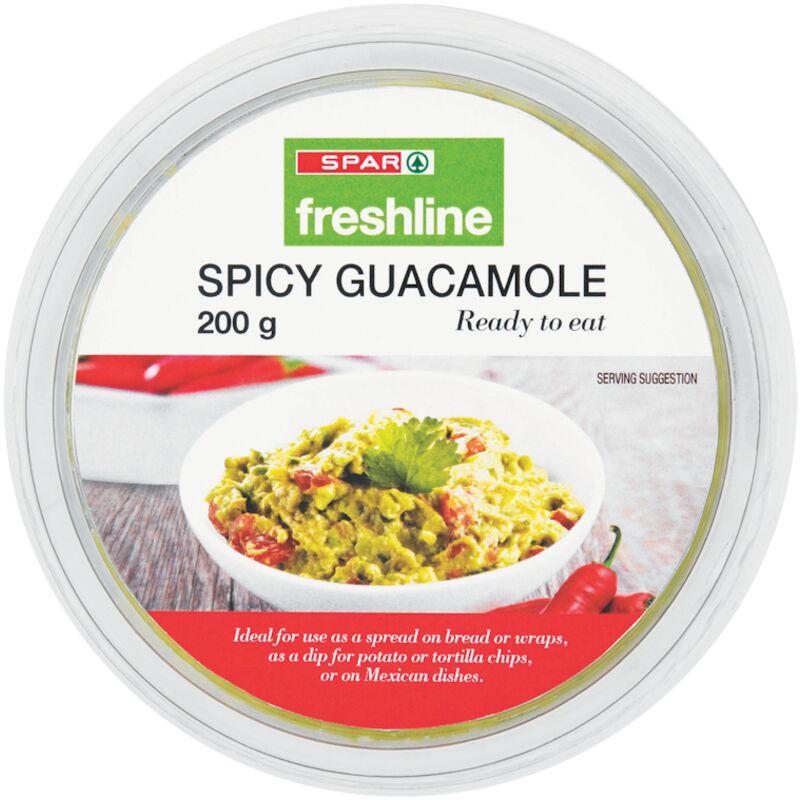 FRESHLINE SPICY GUACAMOLE – 200G