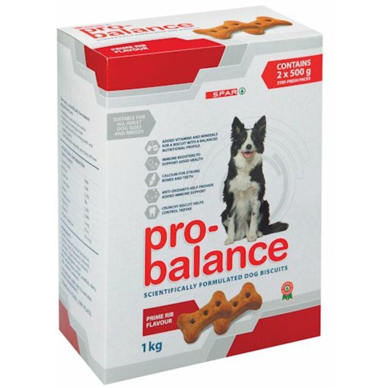 SPAR PRO BALANCE DOG BISCUITS PRIME – 1KG