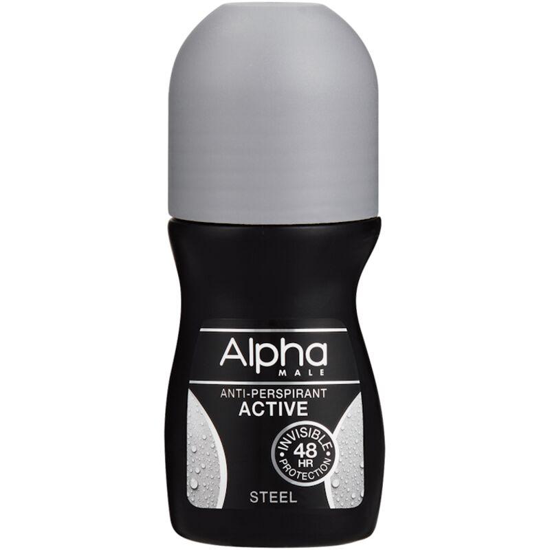 ALPHA MALE ROLL ON STEEL – 50ML