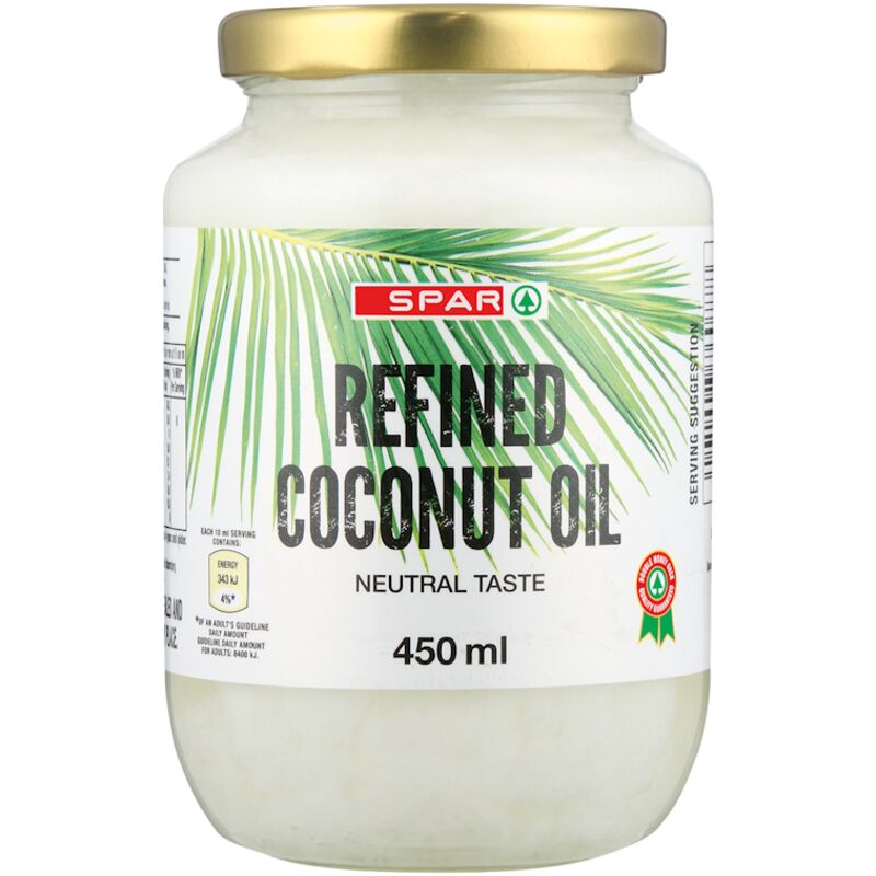 SPAR COCONUT OIL REFINED – 450ML