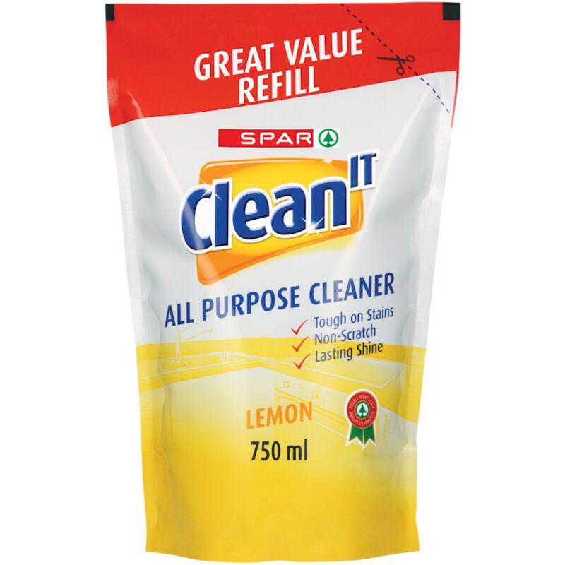 SPAR CLEAN IT ALL PURPOSE CLEANER REFILL – 750ML
