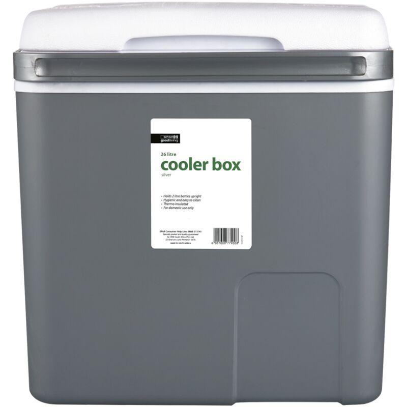 GOOD LIVING COOLER BOX SILVER 26LTR – 1S