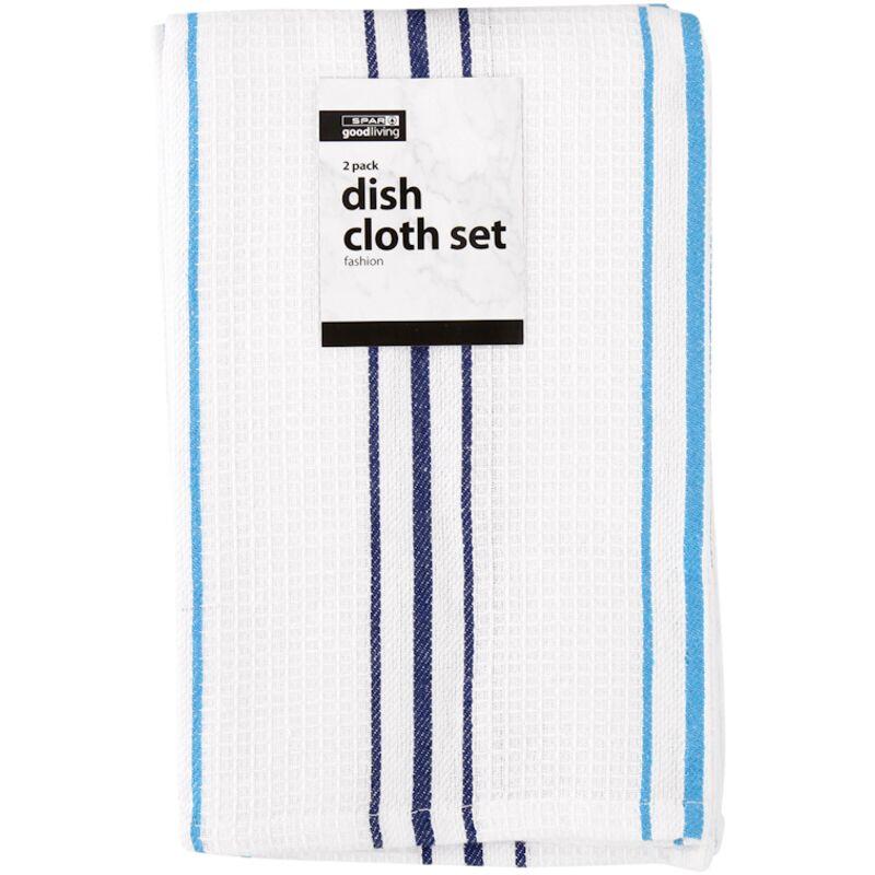 GOOD LIVING DISH CLOTH SET FASHION DESIGNS 2PACK – 2S