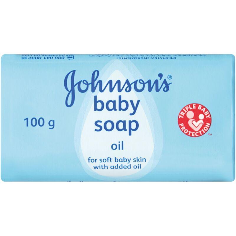 JOHNSONS BABY OIL SOAP – 100G