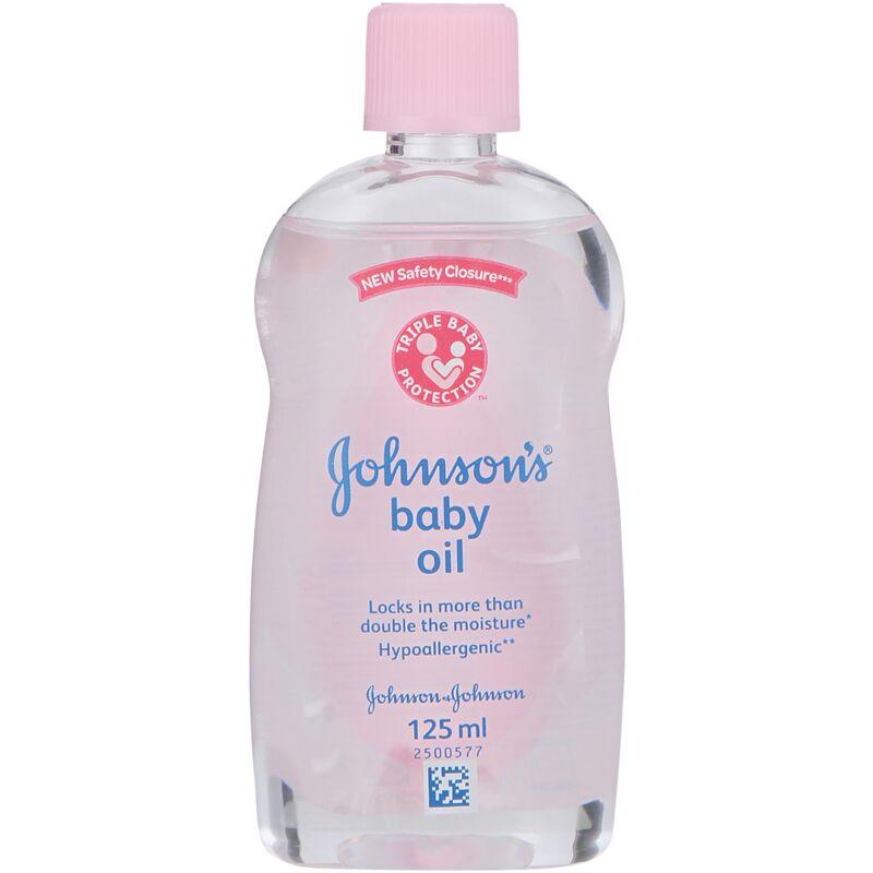 JOHNSONS BABY OIL – 125ML