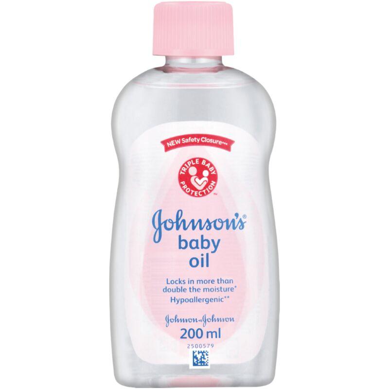 JOHNSONS BABY OIL – 200ML