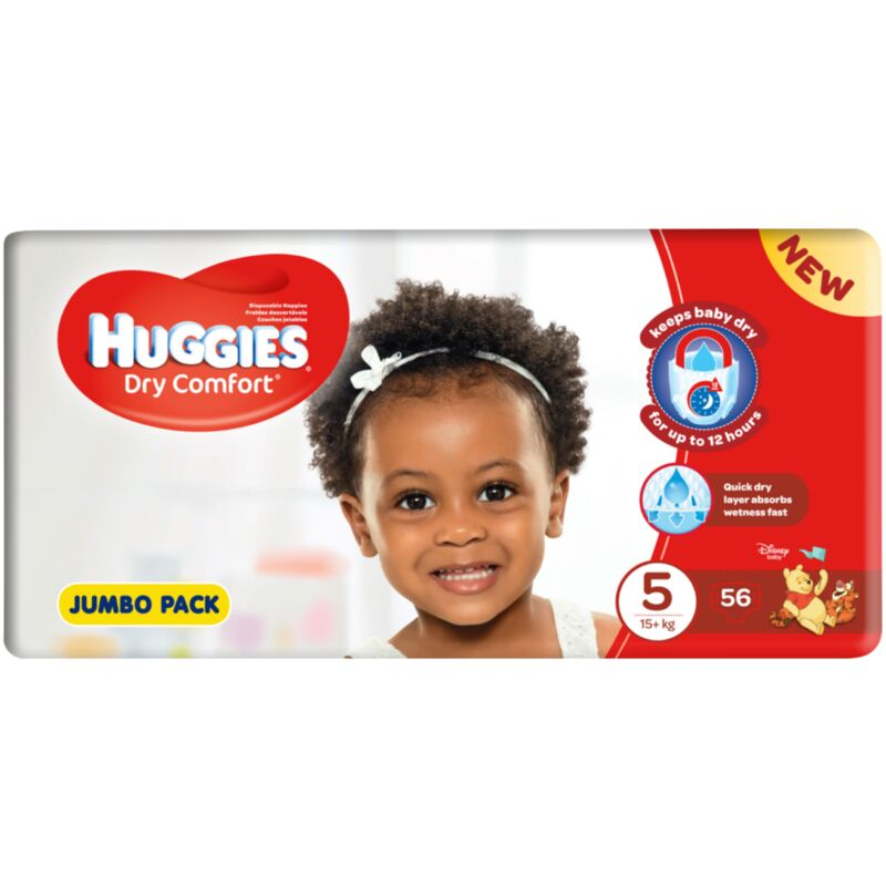 HUGGIES DRY COMFORT JUNIOR 5 JP – 56S