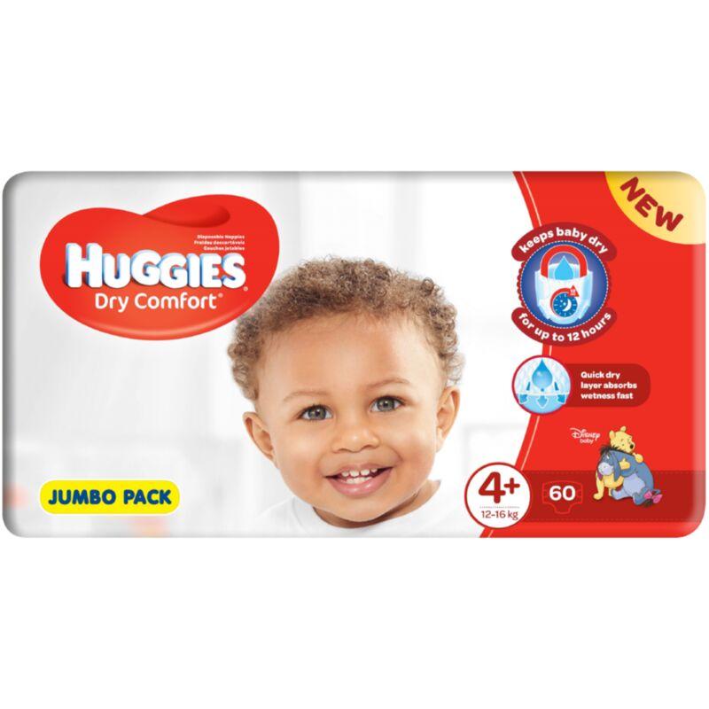 HUGGIES DRY COMFORT MAXI PLUS SIZE 4 JP – 60S