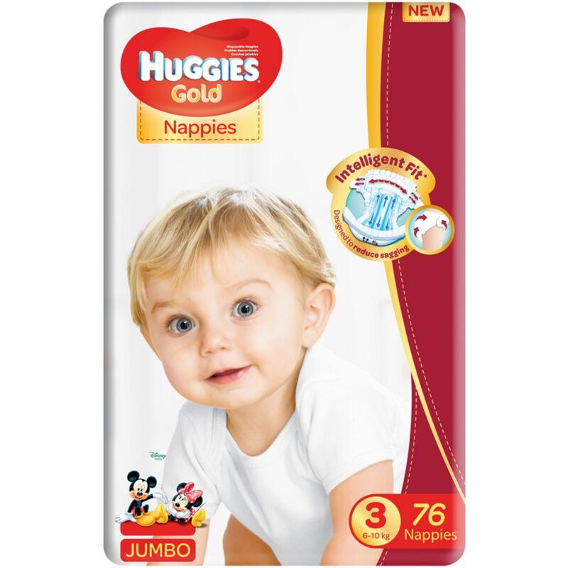 HUGGIES GOLD SIZE 3 UNISEX JP – 76S